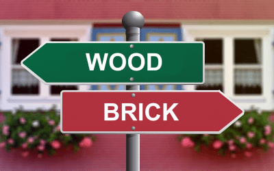 For the Last Time: Brick vs Wood Homes