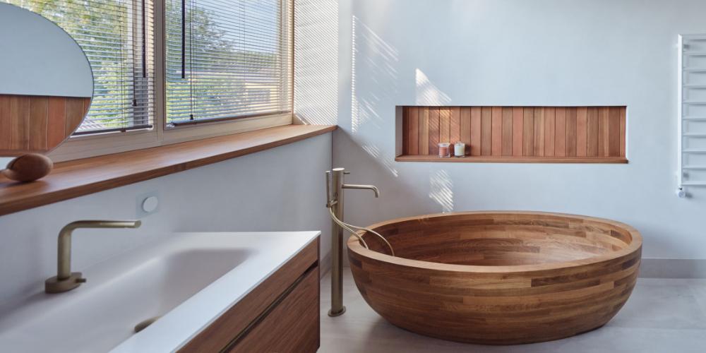 kedro namai vonia